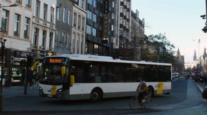 крупная авария на кольцевой дороге в Антверпене