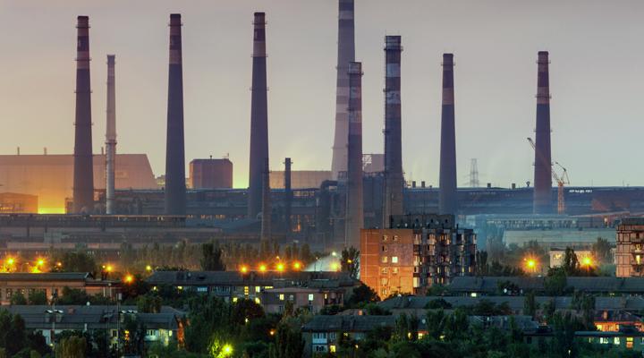 за підсумками січня 2020 року українська промисловість скоротилася на 5,1 відсотка