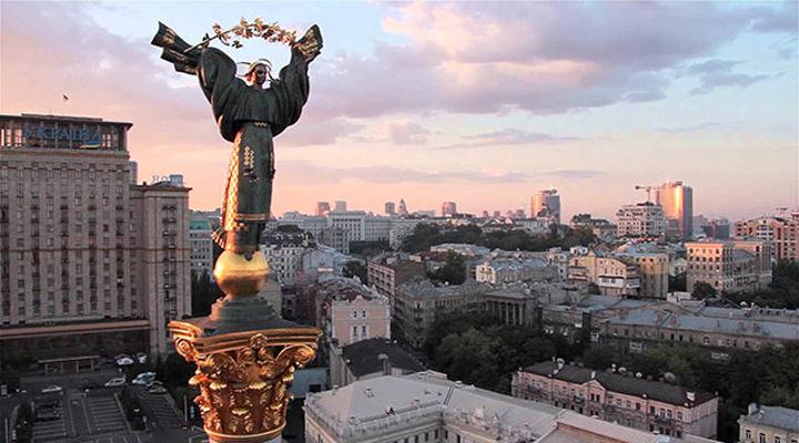 мандрівники в Києві