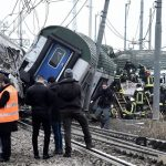 В Італії швидкісний потяг зійшов з рейок