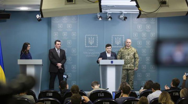 Зеленский заявил, что возвращение Крыма является частью национальной идеи Украины