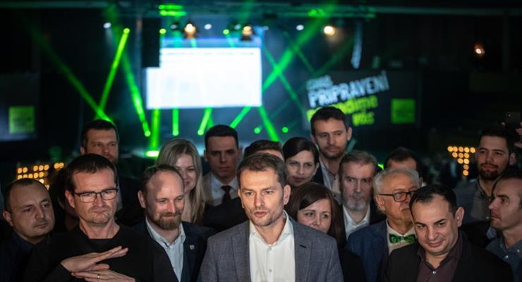 Оппозиция ведет выборы в Словакии
