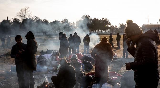 Греция отрицает, что мигрант погиб после столкновения с греческими силами