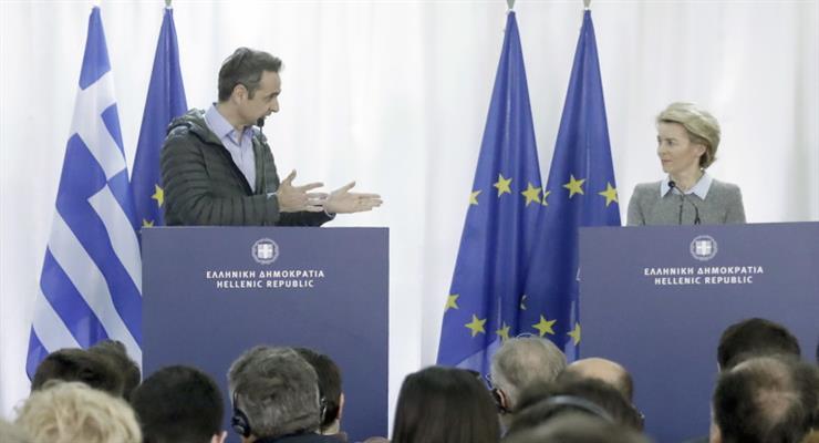 Греция получает 700 миллионов евро помощи для мигрантов из Брюсселя
