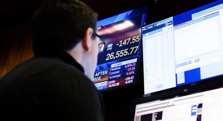 Американские рынки снова падают