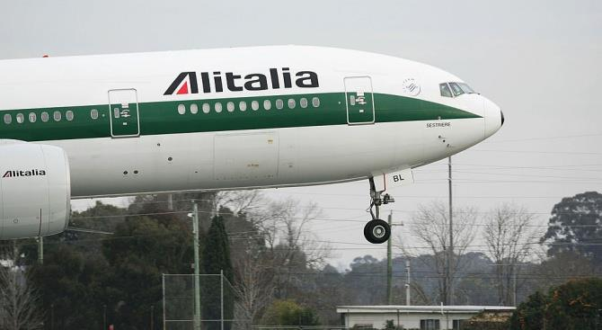 Alitalia с завтрашнего дня останавливает все внутренние и международные рейсы в/из аэропорта Мальпенса в Милане