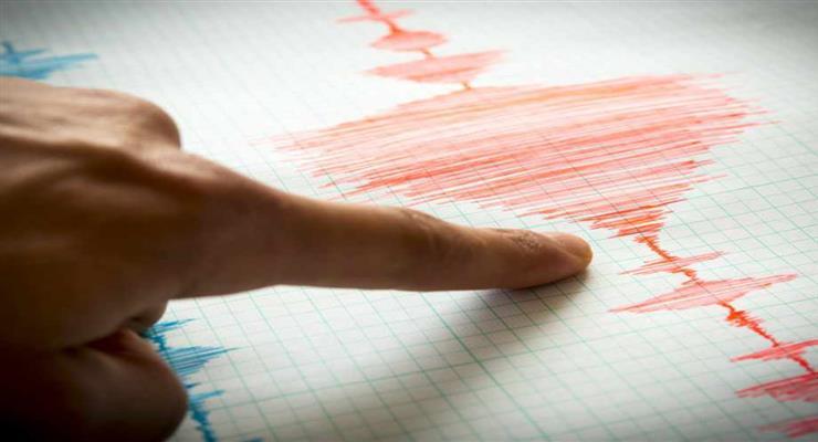 Сильное землетрясение у побережья Северной Калифорнии
