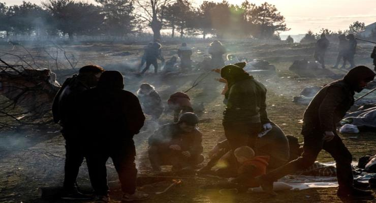 Кипр направил полицию на греко-турецкую границу