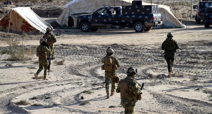Обстрел базы в Ираке - британцы и двое американцев погибли