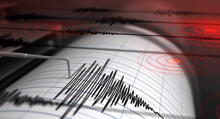 Землетрясение в 4,4 балла по Рихтеру было зарегистрировано в Румынии
