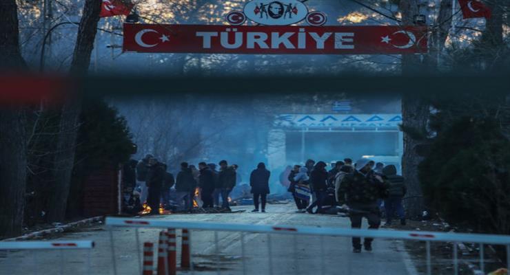 Напряженность на греко-турецкой границе обострилась