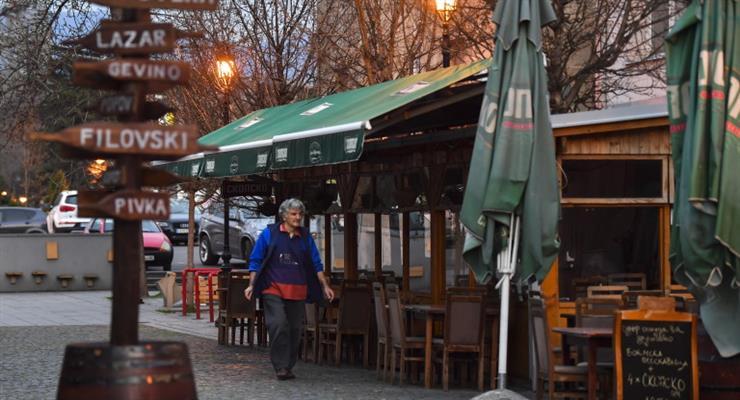 Северная Македония закрывает свои границы для иностранцев