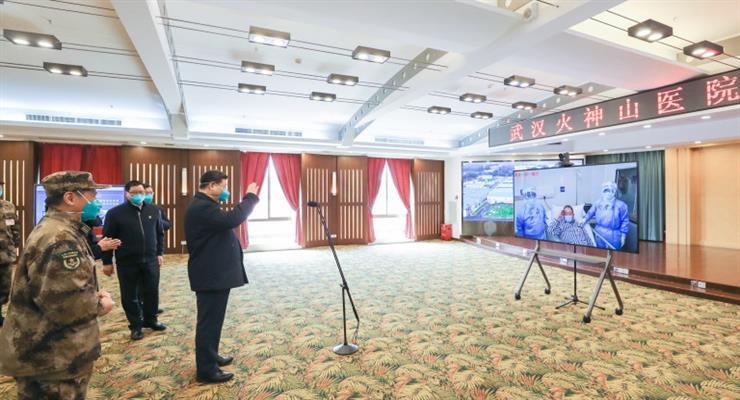Китай предложил построить Шелковый путь в здравоохранении для общей борьбы с коронавирусом