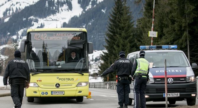 Австрийская провинция Тироль изолирована из-за коронавируса