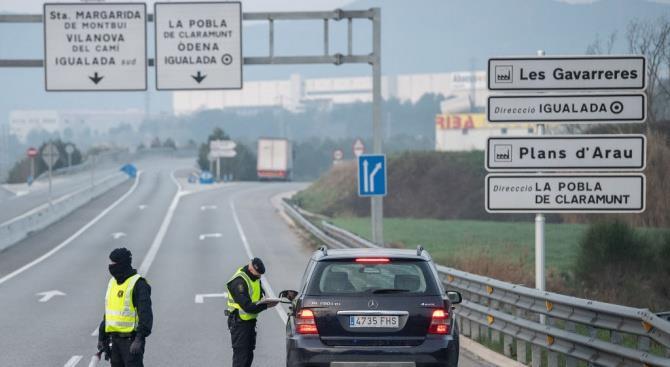 В Испании штраф до 1000 евро, если в машине более одного человека
