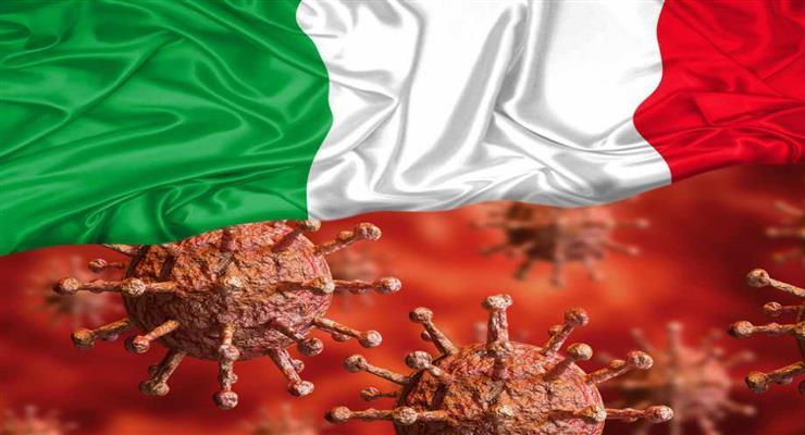 627 жертв коронавируса за один день в Италии