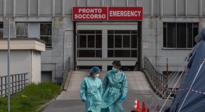 Впервые в Италии зарегистрировано падение смертности