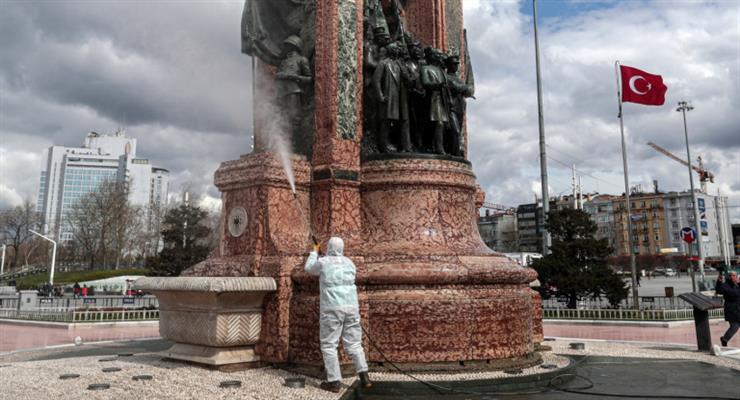 Анкара: больные COVID-19 по всей Турции