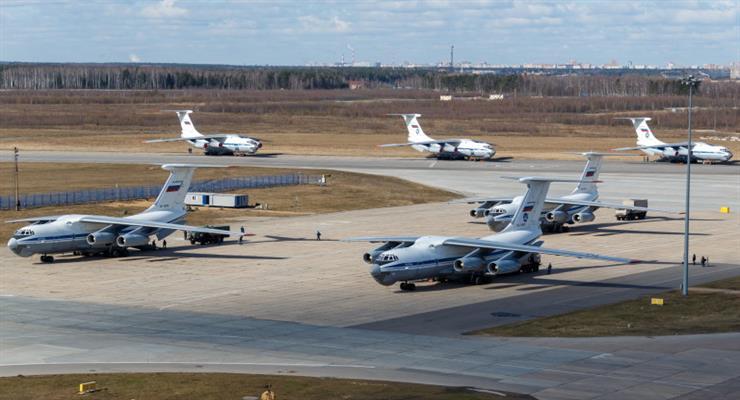 Польша не пропустила российские самолеты с помощью для Италии