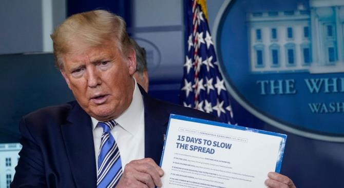 Трамп: тяжелая рецессия может привести к большему количеству жертв, чем коронавирус
