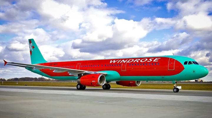 українська авіакомпанія Windrose буде здійснювати польоти в Бургас