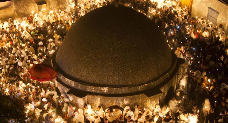 церемония схода Благодатного Огня состоится 18 апреля