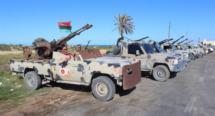 силы обороны Ливийской национальной армии сбили два турецких беспилотника