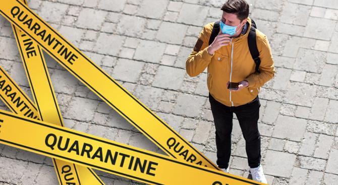 введен запрет на передвижение граждан во время пасхальных каникул