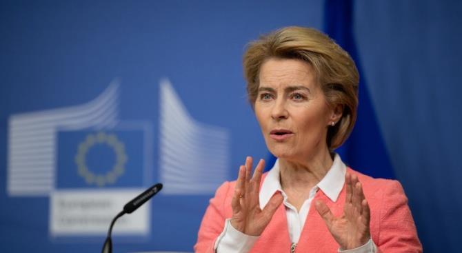 Урсула фон дер Лайен за отмену НДС на медицинское оборудование
