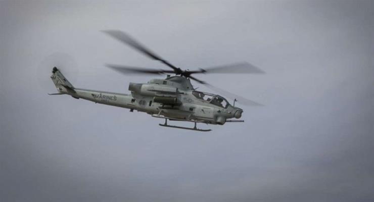 вертоліт НАТО зазнав аварії недалеко від Греції