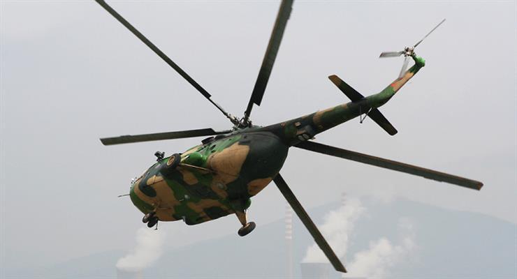 в аеропорту Скоп'є розбився вертоліт