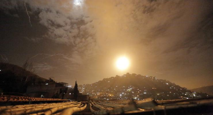 ППО Сирії відбила повітряний удар Ізраїлю
