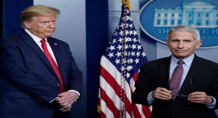 Трамп розпустить раду з коронавірусу
