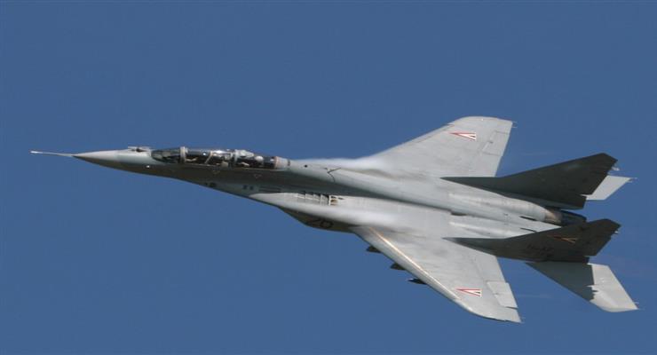 розбився винищувач МіГ-29 ВПС Індії