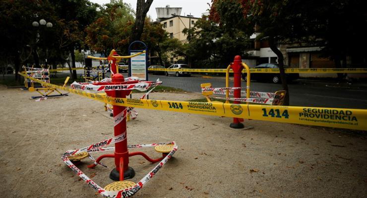 блокада чилійської столиці