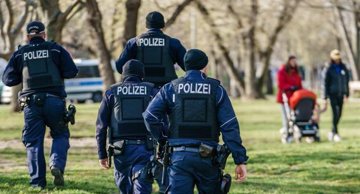 німці протестують проти блокади з 21 квітня