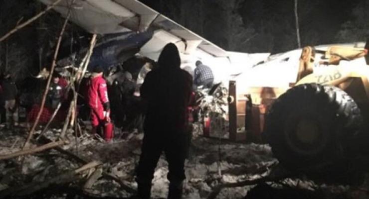 канадський військовий літак зазнав аварії в Британській Колумбії