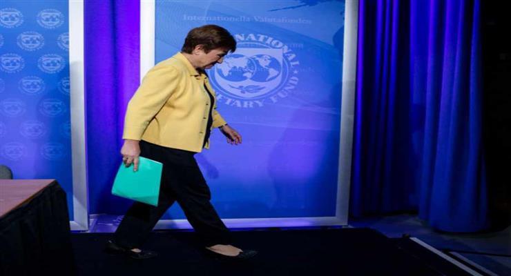 президент МВФ Крісталіна Георгієва озвучила новий прогноз