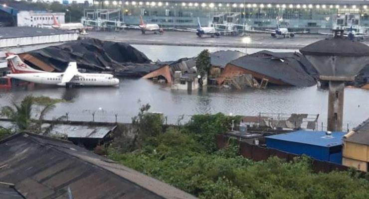 Индия сильно пострадала от циклона