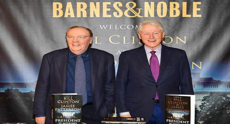 Білл Клінтон продовжує кар'єру письменника