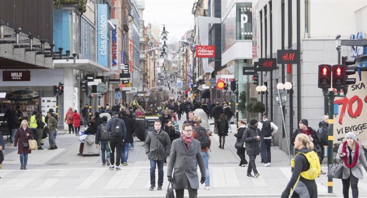 шведська економіка падає