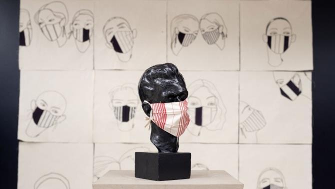 выставка масок в чешском музее