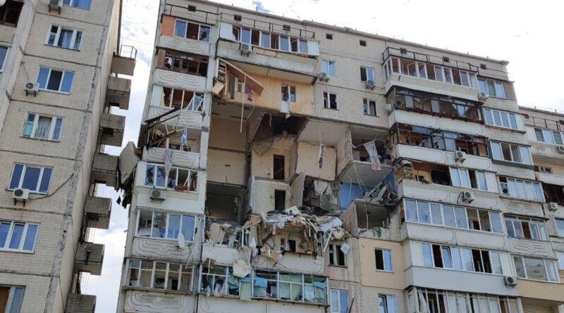 в многоэтажке в Киеве произошел взрыв