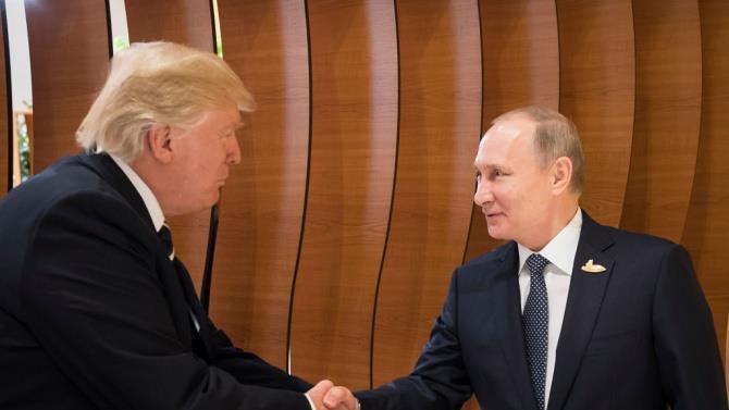вчора по телефону Путін і Трамп обговорили ряд питань