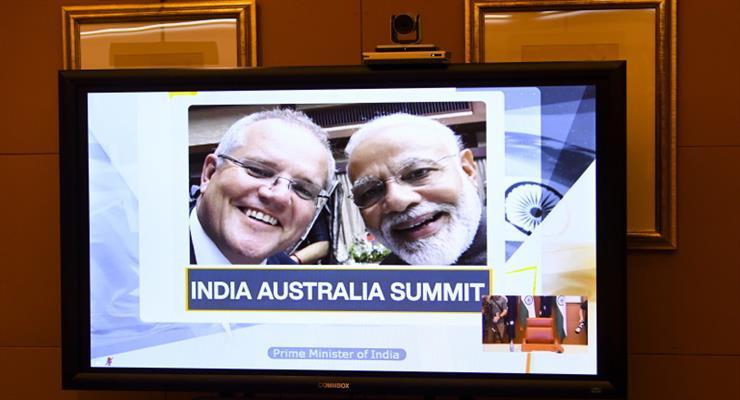 угода про матеріально-технічній армій підтримки Індії та Австралії