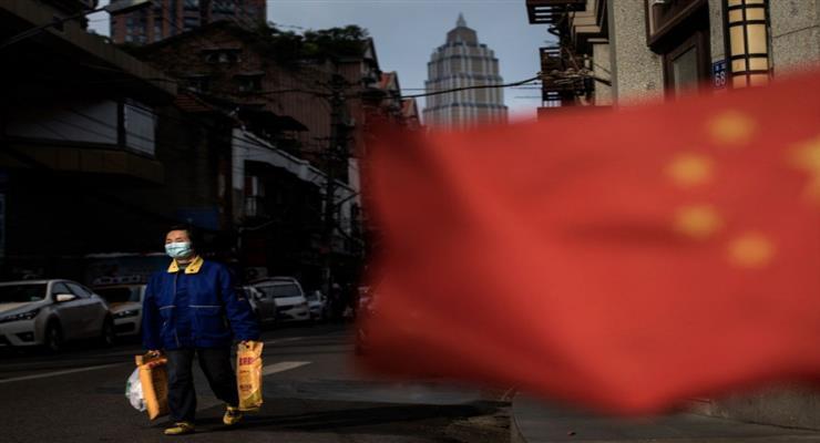 Китай блокирует большую часть столицы