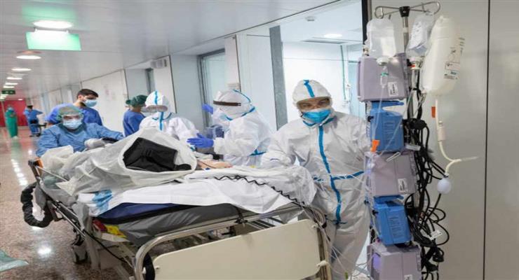 в прямому ефірі транслювалися останні хвилини життя пацієнта з COVID-19