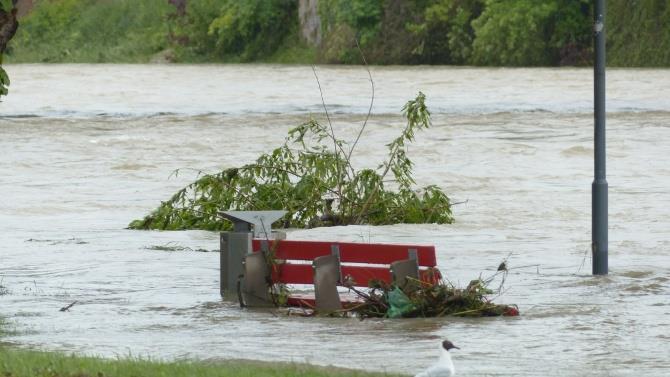 наводнение из-за дождей в Украине