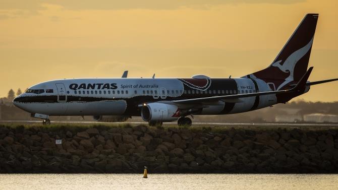австралійська авіакомпанія Qantas оголосила про план скорочення 6000 осіб