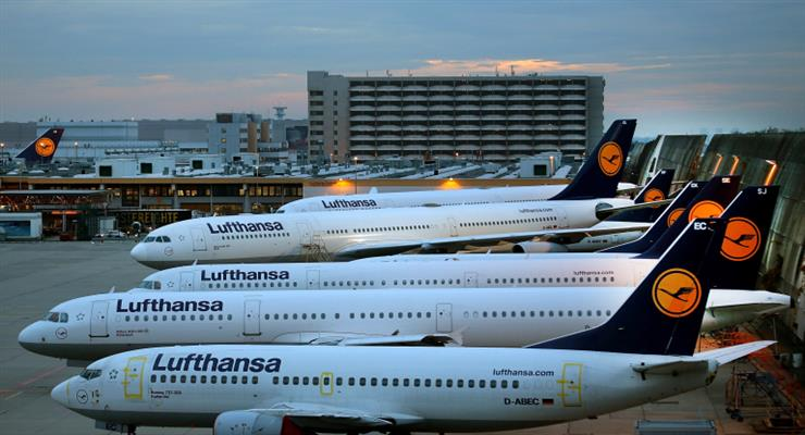 уряд Німеччини запропонувало врятувати Lufthansa від банкрутства